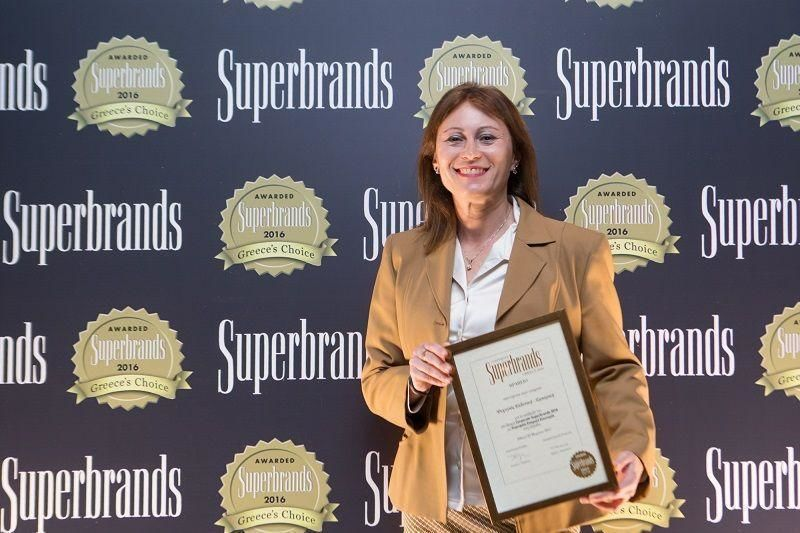 Oι Εκδόσεις ΨΥΧΟΓΙΟΣ τιμήθηκαν με το βραβείο SUPERBRANDS 2016 στην κατηγορία ΕΚΔΟΤΙΚΟΙ ΟΙΚΟΙ