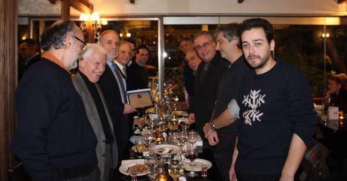 Η Ένωση Σεναριογράφων Ελλάδος τίμησε τον Σπύρο Καρδακάρη